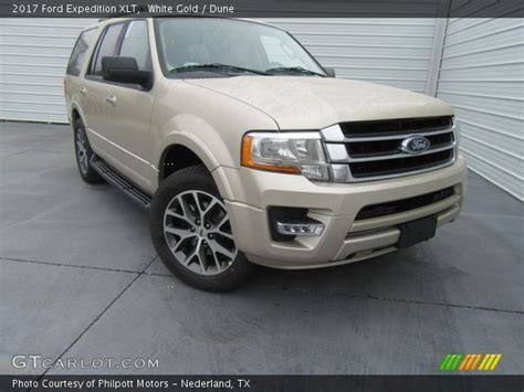 Expedition E6381 Gold White For white gold 2017 ford expedition xlt dune interior gtcarlot vehicle archive 117773491