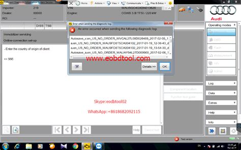 Audi Login by Audi Access Error Occurred After Audi Login