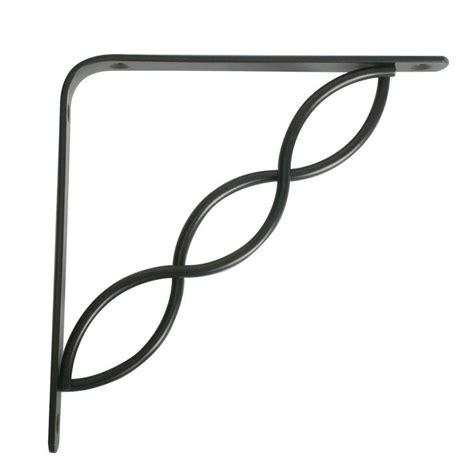 decorative shelving brackets concord decorative shelf bracket black in shelf brackets