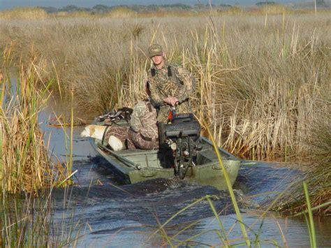 duck hunting from a boat duck hunting boats go devil manufacturers