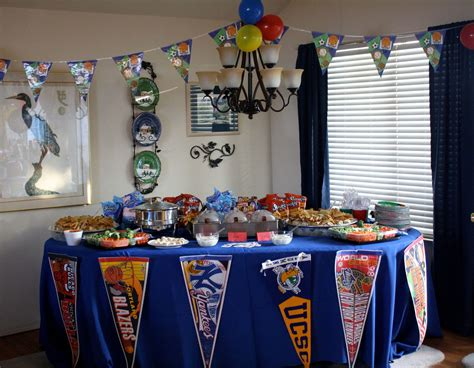 sports themed birthday decorations sports themed first birthday party home party ideas