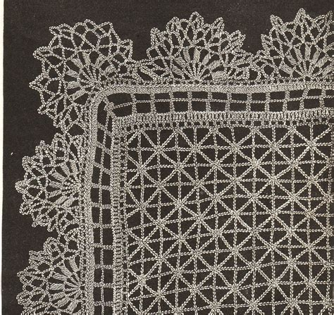 vintage lace pattern vintage lace shawl crochet pattern 1890s pdf instant download