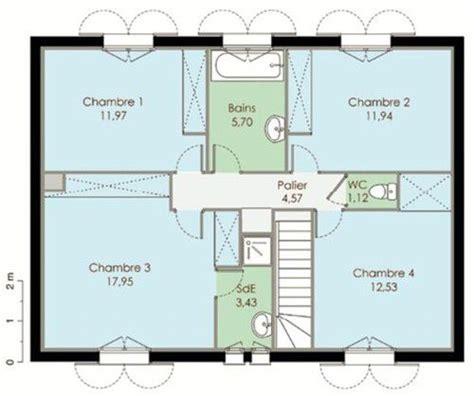 plan pavillon 100m2 pavillon classique d 233 du plan de pavillon classique