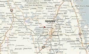 apopka florida map apopka location guide