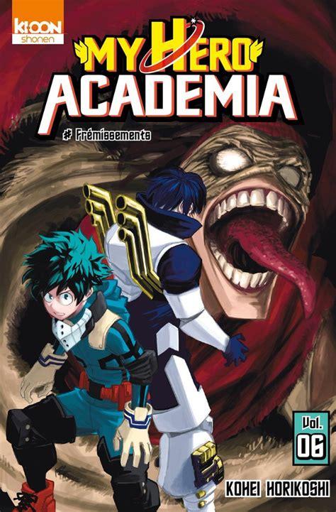 libro my hero academia 6 my hero academia 6 fr 233 missements