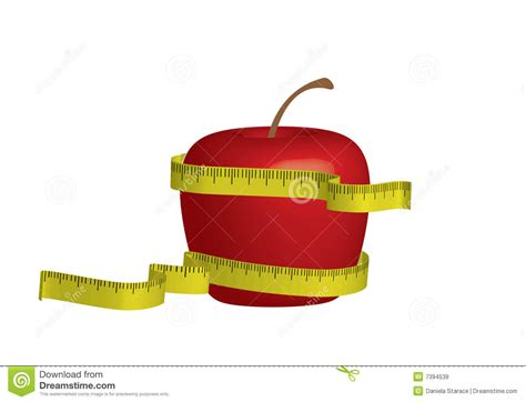 apple diet apple diet royalty free stock images image 7394539