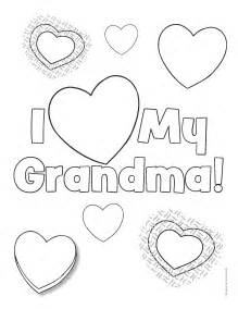 grandparents coloring pages getcoloringpages