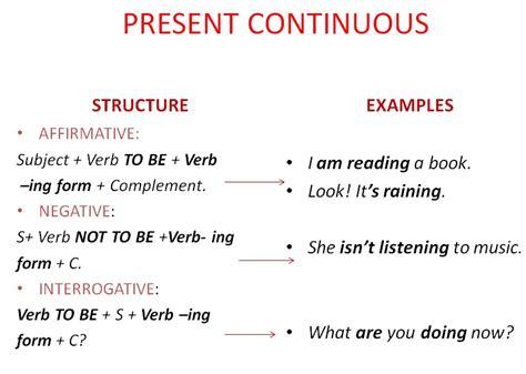 preguntas en presente perfecto en ingles afirmativas negativas y interrogativas presente continuo aprende su forma afirmativa negativa e