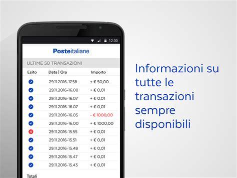 banco posta poste italiane tandem bancoposta mobile pos android apps on play