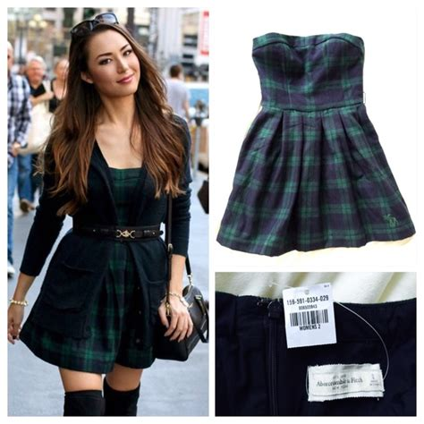 2 Die 4 Abercrombie Fitch Checked Dress by 77 Abercrombie Fitch Dresses Skirts Hp