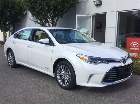 Toyota Preown Pre Owned 2016 Toyota Avalon Hybrid Limited 4d Sedan In