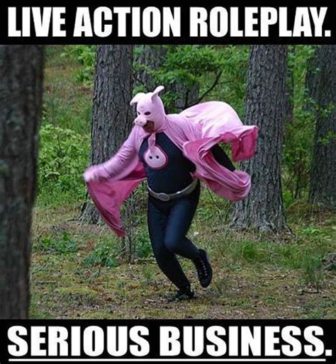 larp serious business meme larping org