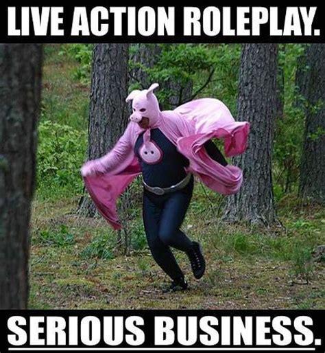 Larping Meme - larp serious business meme larping org