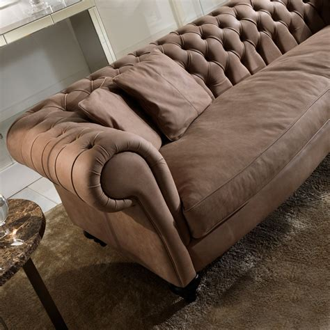 spagnesi italian leather sofa italian leather modern chesterfield sofa juliettes interiors