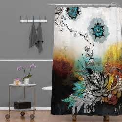 Have the unique shower curtains in your bathroom home and textiles