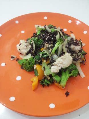 Kitchen Experiments Forbidden Fried Rice by Easy Forbidden Rice Stir Fry Recipe Genius Kitchen