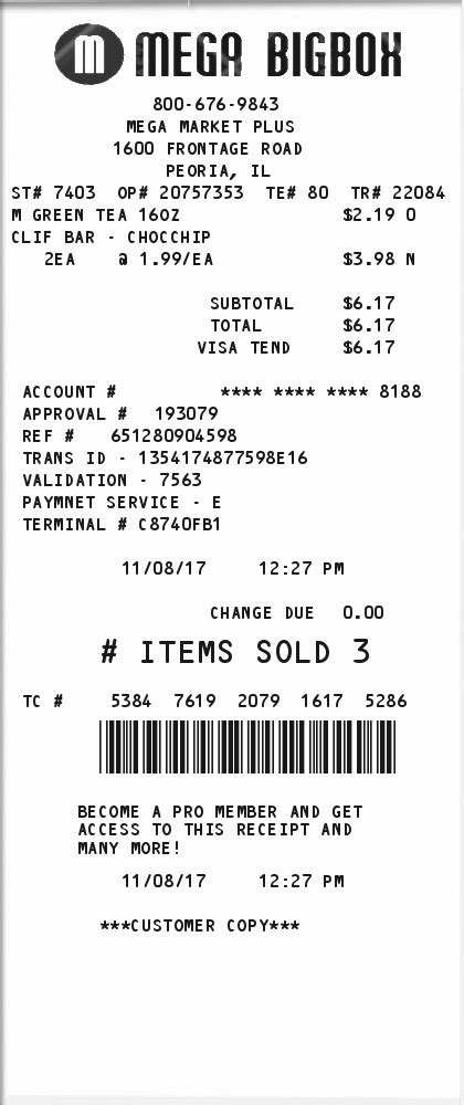 Retail Receipt Template by Retailer Receipt Expressexpense Custom Receipt Maker