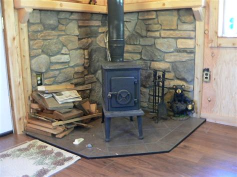 Wood Stove In Cabin by Small Cabin Wood Stove Setup Small Cabin Forum 6