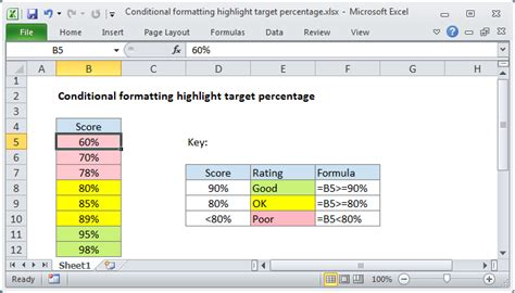 excel 2007 conditional formatting format only cells that contain conditional formatting formulas exceljet