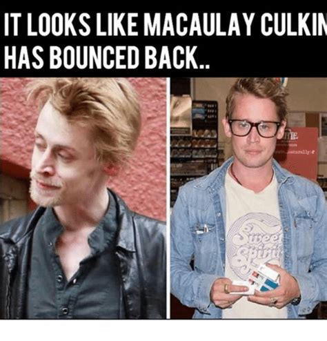 Macaulay Culkin Memes - it looks like macaulay culkin has bounced back macaulay