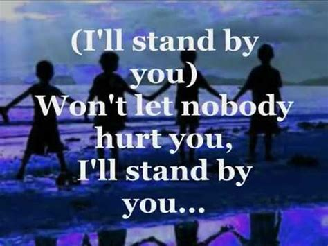 country music lyrics i will stand by you i ll stand by you lyrics the pretenders youtube