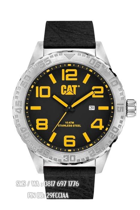 Caterpillar Cat Nh Lack Silver jual jam caterpillar nh 141 34 137 original caterpillar