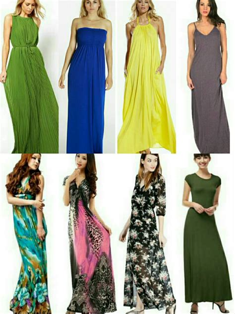 hair styles with maxi type dresses types of maxi dresses with pictures daves fashions