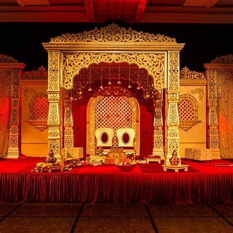 Soma Sengupta Indian Bridal Decoration  Traditional Red