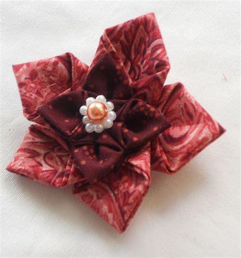 Handmade Fabric Crafts - handmade fabric origami origamis with fabric handmade