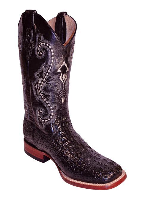 s ferrini boots pungo ridge ferrini s caiman crocodile print square