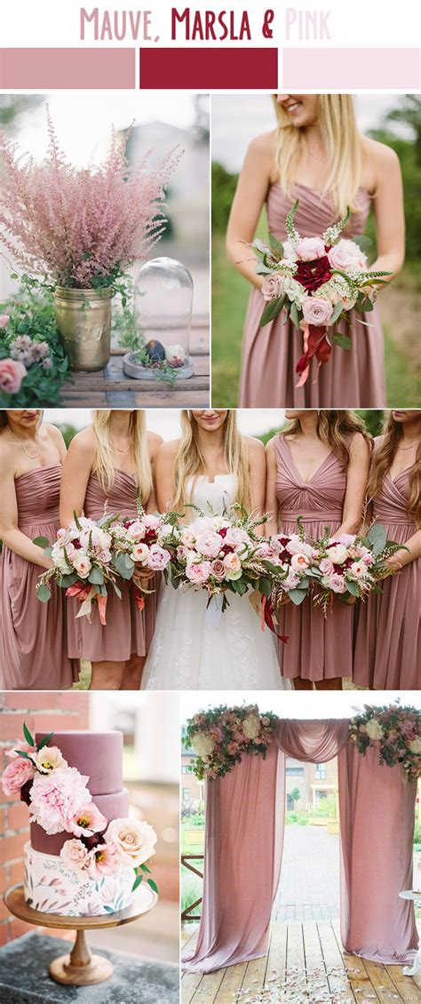 summer wedding color schemes 10 best wedding color palettes for summer 2017