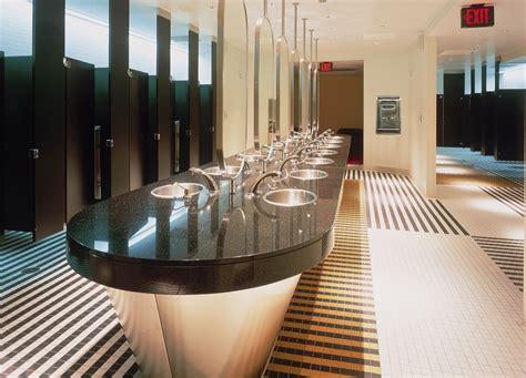 Neutral Bathroom Designs - excel dryer and sloan valve showcase course in next generation green restroom design at greenbuild