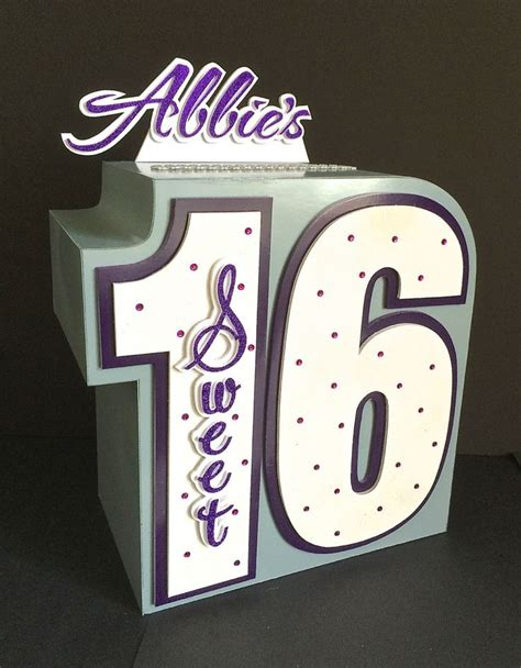 Sweet 16 Gift Card Box - 23 best images about sweet 16 on pinterest sweet 16 candles sweet sixteen and gift