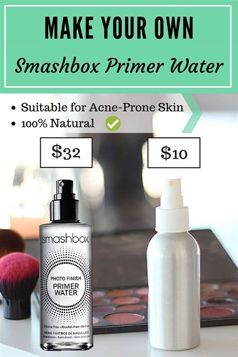 diy smashbox primer water makeup setting spray makeup