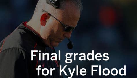 Rutgers Mba Grading Scale by Grades For Fired Rutgers Coach Kyle Flood Nj