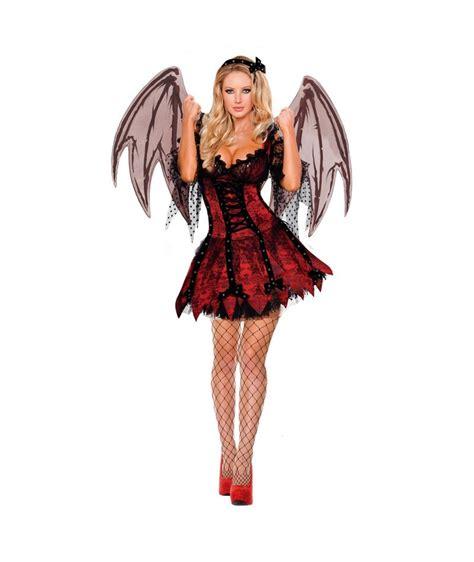Imagenes Halloween Mujer | disfraz viresa con alas mujer adulto para halloween