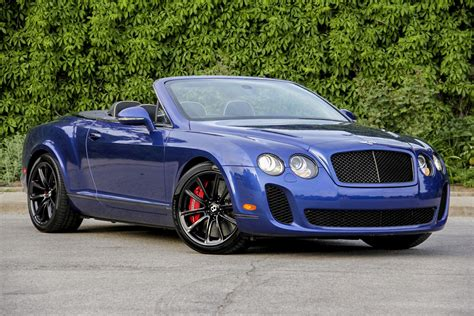 2014 Bentley Mulsanne Convertible Super Sports Top Auto