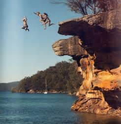 Cliff Jumping Jumping A Cliff Amazing Places