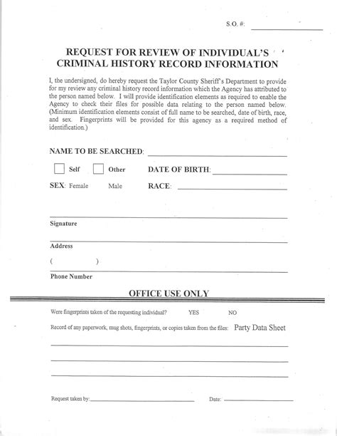 Records Request County Tx Official Website