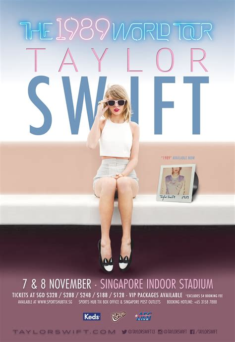 taylor swift japan dates taylor swift 1989 world tour singapore concert tour asia