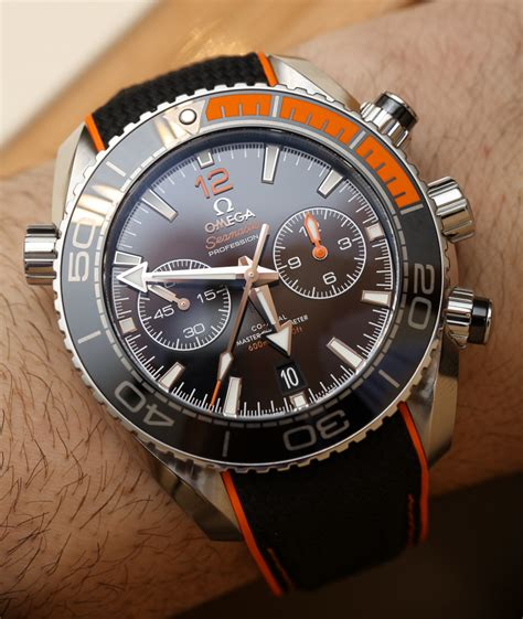 Omega Chronos omega seamaster planet chrono orange lnette