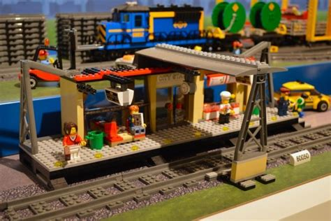 Express Modular by Moc Lego City 60050 Train Station Lego Reviews Amp Videos