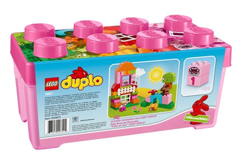 Lego 10571 Duplo All In One Pink Box Of lego duplo 174 all in one box of pink 10571 free