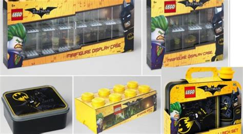 Lego Batman Accesories 853638 Batman Minifigure other lego batman accessories found as well minifig display cases and luchn boxes and