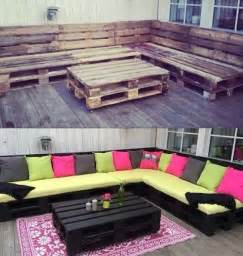 patio furniture from pallets 39 insanely smart and creative diy outdoor pallet