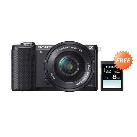 Sony A5000 Kit 16 50 Oss Sony Alpha 5000 Kit Berkualitas jual sony alpha a5000 kit 16 50mm f 3 5 5 6 oss hitam