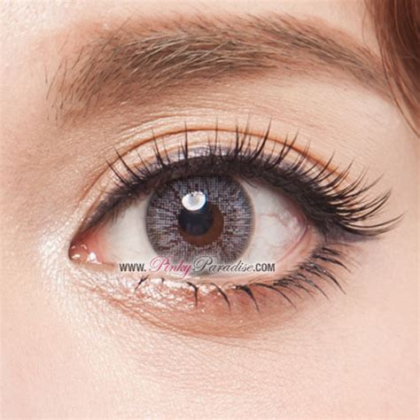 grey colored contacts gbt grey circle lenses colored contacts pinkyparadise