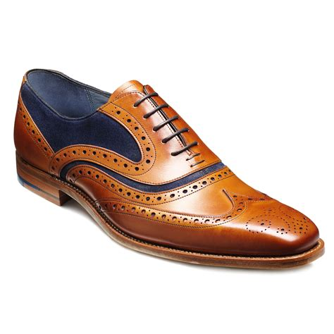barker oxford shoes barker mens mcclean wingtip oxford brogue 382926