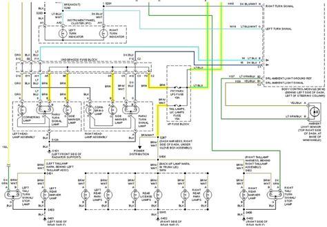 buick regal tail lights diagram car repair forums