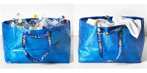ikea shopping bag ikea frakta shopping bag redesign hay collaboration